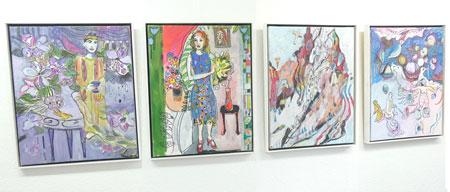 """Ausstellungsimpression """"Experiment Jugendstil"""" Foto: Heike v. Goddenthow"""