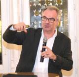Festredner Andreas Hübner begeisterte die Zuhörer mit neuen Ansätzen zur Klimadiskussion.© Foto: Diether v Goddenthow