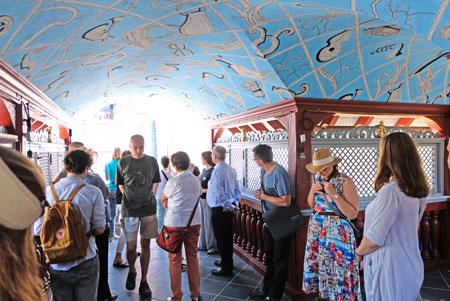 Das Belvederchen, die Dachterrasse des Barocks, diente der Erholung.  © Foto: Diether v Goddenthow