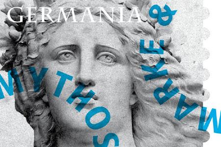 """Visual zur Ausstellung """"Germania. Marke & Mythos"""" © Museum für Kommunikation Frankfurt"""