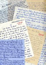 """Ausstellung """"Briefe ohne Unterschrift"""" Briefe ohne Unterschrift, August 1961 © Foto: BBC Written Archive Caversham, England"""