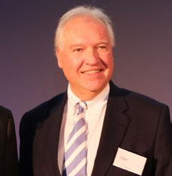 Präsident der IHK Frankfurt Ulrich Caspar. ©  Foto: Diether  v Goddenthow
