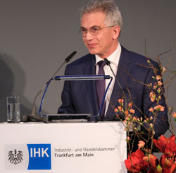 Oberbürgermeister Peter Feldmann. ©  Foto: Diether  v Goddenthow
