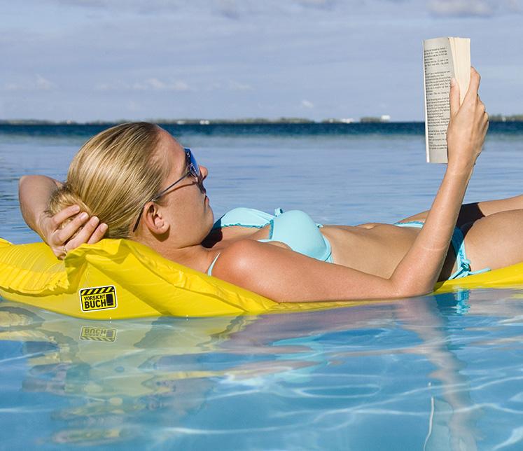 Ich lese gern! Immer mehr Menschen entdecken wieder neu den unglaublich meditativ, aktivierenden Effekt des Lesens. © Börsenverein des Deutschen Buchhandels