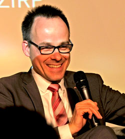 Dr. Denis Alt, Staatssekretär für Wissenschaft, Weiterbildung und Kultur ©  Foto: Diether  v Goddenthow