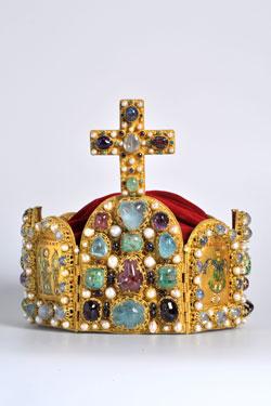 Reichskrone, Kopie © GDKE Rheinland-Pfalz – Landesmuseum Mainz (Foto: Ursula Rudischer)
