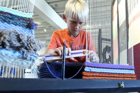 Werk-Stoff-Textil im Jungen Museum Frankfurt © HMF