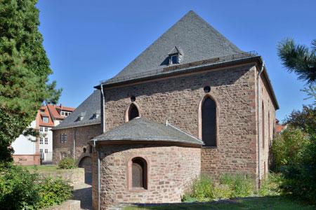 Der Wormser Synagogenplatz © GDKE Rheinland-Pfalz (Foto: Jürgen Ernst)