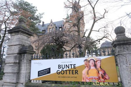 BUNTE GÖTTER – GOLDEN EDITION Die Farben der Antike 30. Januar – 30. August 2020 - Liebieghaus Skulpturensammlung.© Foto: Diether v Goddenthow
