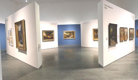 Museum Wiesbaden Noch bis 2.8.2020 Ludwig Knaus Ausstellung  © Foto: Diether v Goddenthow