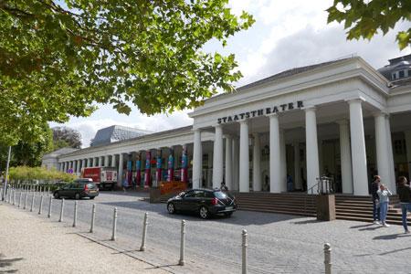 Bis zum 19. Mai 2020  keine Veranstaltungen im Hessischen Staatstheater Wiesbaden © Foto: Diether v Goddenthow