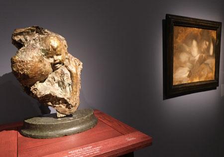"""Medardo Rosso """"Das goldene Zeitalter"""". © Foto: Diether v Goddenthow"""