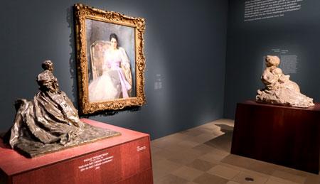 Ausstellungsansicht EN PASSANT. Impressionismus in Skulptur © Foto: Diether v Goddenthow