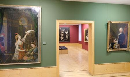Gemäldegalerie der Goethezeit © Foto: Diether v. Goddenthow