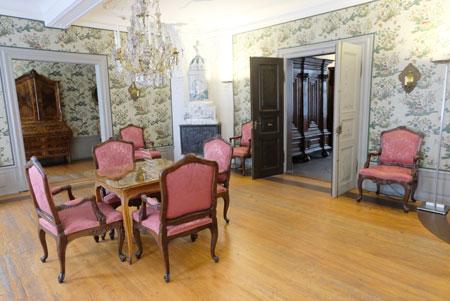 Salon-Impression aus dem Goethehaus. © Foto: Diether v. Goddenthow