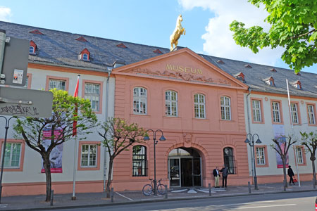 Landesmuseum Mainz, © Foto: Diether v. Goddenthow