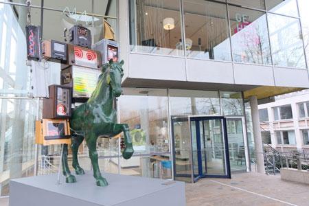 Museum für Kommunikation Frankfurt.Foto: Diether v Goddenthow
