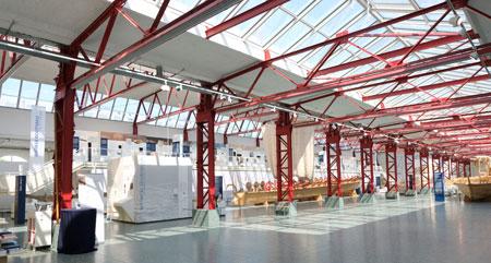 Museum für Antike Schifffahrt des Römisch Germanischen Museums Mainz © Foto: Diether v. Goddenthow