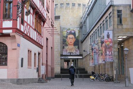Schirn Kunsthalle Frankfurt © Foto: Diether v Goddenthow
