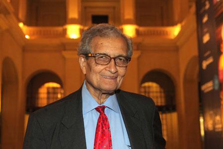 Amartya Sen Foto: Fronteiras do_Pensamento, Sao Paulo