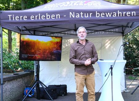 Dr.-Christof-Schenck, Geschäftsführer der Zoologischen Gesellschaft Frankfurt © Foto: Diether v. Goddenthow