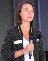 Sandra Henek, Klinikgeschäftsführerin der Helios HSK Wiesbaden. © Foto: Diether v. Goddenthow