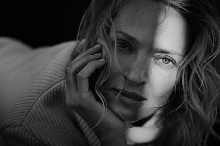 Peter Lindbergh Uma Thurmann, News York 2016