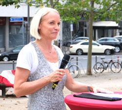 Ilka Ennen, Leiterin des Referats für Presse- und Öffentlichkeitsarbeit in der Hessischen Staatskanzlei. © Foto: Diether v. Goddenthow