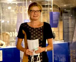 sam-Museumdirektorin Dr. Sabine Philipp © Foto: Diether v. Goddenthow