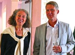 Museumsdirektor Marco van Bel begrüßte auch  seine Vorgängerin Frau Dr. Angela Nestler-Zapp, die 2015 feierlich in den Ruhestand verabschiedet wurde. © Foto: Heike v. Goddenthow