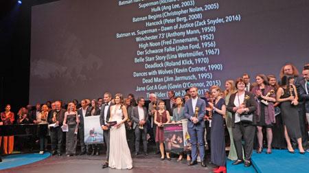 30. Hessischer Film- und Kino-Preis 2019. Coronabedingt wird  in diesem Jahr keine große Verleihungs-Gala in der Alten Oper gefeiert werden. © Foto: Diether v. Goddenthow