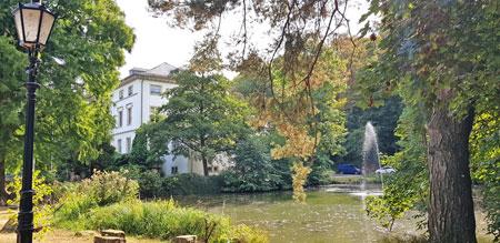 Idyllisch gelegen: Schlossparkmuseum Bad Kreuznach.© Foto: Heike v. Goddenthow