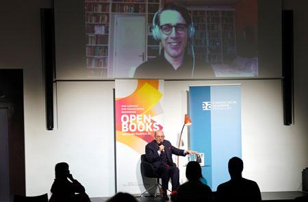 Lesung mit Benjamin Moser und Denis Scheck © Open Books 2020