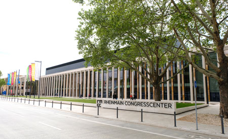 RheinMain CongressCenter. © Foto: Diether v. Goddenthow