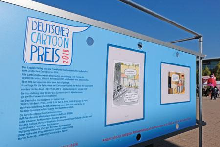 Ab 21.11.2020 werden die Besten Bilder 2020 in einer großen Ausstellung in der Caricatura Galerie in Kassel präsentiert.  © Archivbild: Diether v. Goddenthow
