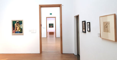 "Ausstellungs-Impression August Macke ""Paradies! Paradies?"" Foto: Diether v. Goddenthow"
