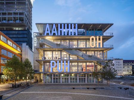 ARGE MVRDV & N-V-O NUYKEN VON OEFELE ARCHITEKTEN Werk 12, München Foto: Ossip van Duivenbode, @Ossip