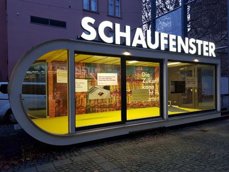 Schaufenster Gutenberg-Museum Bild Landeshauptstadt Mainz