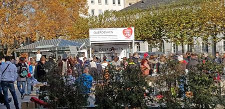 Archivbild: Querdenken-Kundgebung in Wiesbaden am 7.11.2020