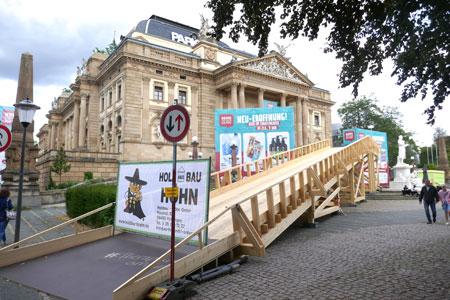Wiesbaden Biennale 2018  © Foto Diether v. Goddenthow-