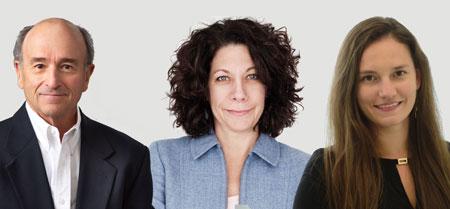 Preisträger des Paul Ehrlich-Preises 2021 (vli.) Michael R. Silverman und Bonnie L. Bassler erhalten den Paul Ehrlich- und Ludwig Darmstaedter-Preis. Elvira Mass wird mit dem Nachwuchspreis 2021 geehrt. Foto: Paul Ehrlich-Stiftung
