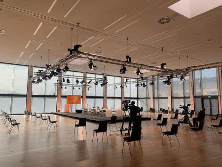 """RMCC – Gastgeber für die Veranstaltungsbranche """"Pfade in die Zukunft"""": am 11./12.02.2021 diskutiert die Zukunft der Branche. © RMCC"""