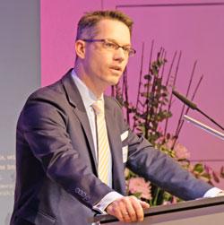 Dr. Christian Gastl, Präsident der IHK Wiesbaden Archivbild vom Jahresempfang 2020  © Foto Diether v. Goddenthow