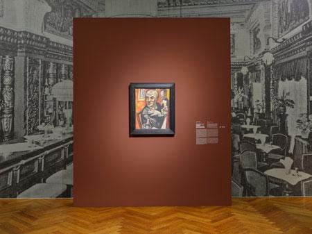 STÄDELS BECKMANN / BECKMANNS STÄDEL. DIE JAHRE IN FRANKFURT Ausstellungs-Impression  © Städel Museum