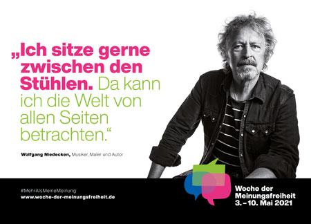 Wolfgang Niedecken, Musiker, Maler, Autor Foto: Lutz Bischoff (Molchkragen Media)
