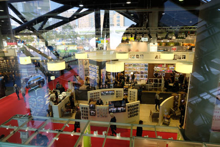 Frankfurter Buchmesse © Archiv-Foto Diether v. Goddenthow