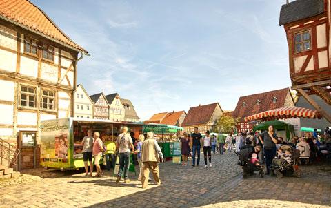 Bauernmarkt im Hessenpark Foto: Michael Himpel