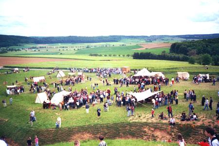 Keltenfest am Glauberg - © Foto Diether v. Goddenthow