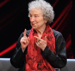 Margaret Atwood wird virtuell auftreten. Archivfoto Lesegala 2019 © Foto Diether v Goddenthow