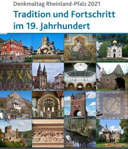 Broschüre Tag des Denkmals RLP 2021. Motto: Tradition und Fortschritt im 19. Jahrhundert.